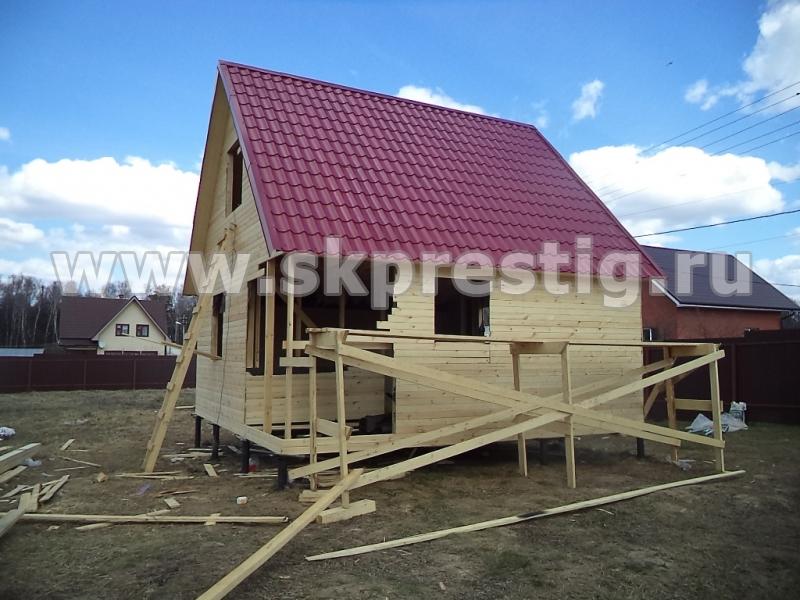 6x6 каркасный дом