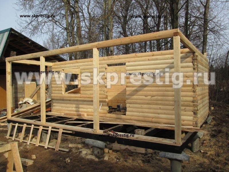 деревянные бани в скопино